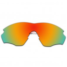 Replacement Polarized Lenses for Oakley M2 Frame XL OO9343 (Fire Red Mirror)