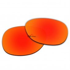 Replacement Polarized Lenses for Oakley Stringer OO9315 (Fire Red Mirror)
