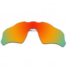 Replacement Polarized Vented Lenses for Oakley Radar EV Path OO9208 (Fire Red Mirror)