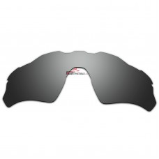 Replacement Polarized Vented Lenses for Oakley Radar EV Path OO9208 (Silver Coating)