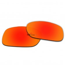 Replacement Polarized Lenses for Oakley TwoFace (Asian Fit) OO9256 (Fire Red Coating)