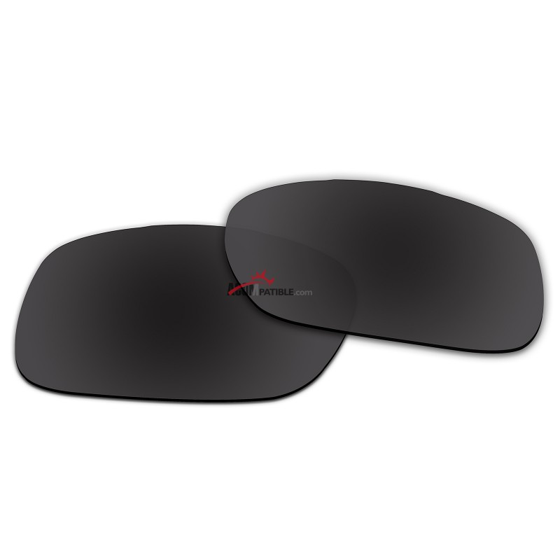 4cea6acc4ed Replacement Polarized Lenses for Oakley TwoFace (Asian Fit) OO9256 (Black  Color) ...