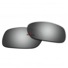 Replacement Polarized Lenses for Oakley TwoFace (Asian Fit) OO9256 (Silver Coating)