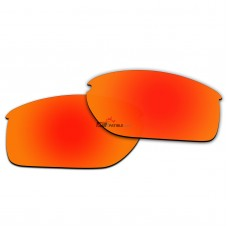 Polarized Lenses for Oakley Halflink Asia Fit OO9251 (Fire Red Coating)
