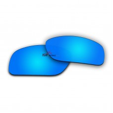 Replacement Polarized Lenses for Oakley Turbine OO9263 (Ice Blue Coating)
