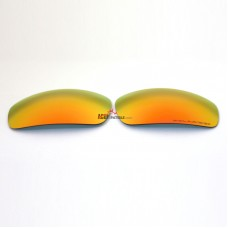 Replacement Polarized Lenses for Oakley Monster Pup (Fire Red Mirror)