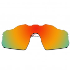 Replacement Polarized Vented Lenses for Oakley Radar EV Pitch OO9211 (Fire Red Mirror)