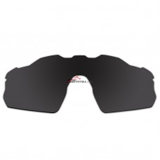 Replacement Polarized Vented Lenses for Oakley Radar EV Pitch OO9211 (Black)
