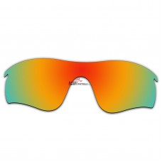 Replacement Polarized Lenses for Oakley RadarLock Path (Asia Fit) OO9206 (Fire Red Mirror)