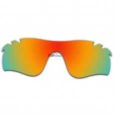 Replacement Polarized Vented Lenses for Oakley RadarLock Path (Asia Fit) OO9206 (Fire Red Mirror)