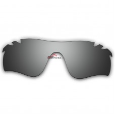 Replacement Polarized Vented Lenses for Oakley RadarLock Path (Asia Fit) OO9206 (Silver Coating)