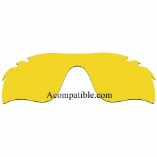 Replacement Polarized Vented Lenses for Oakley RadarLock Path (Asia Fit) OO9206 (Yellow - Night Vision)