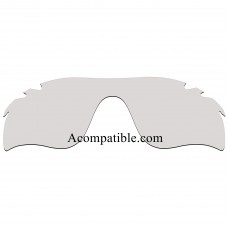 Replacement 10-20% Polarized Vented Lenses for Oakley RadarLock Path (Asia Fit) OO9206 (Clear Photochromic Lenses)