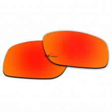 Replacement Polarized Lenses for Oakley Mainlink OO9264 (Fire Red Coating)
