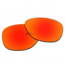 Polarized Replacement Lenses for Oakley Moonlighter OO9320 (Fire Red Coating)