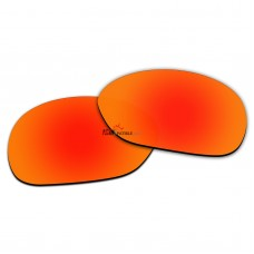 Replacement Polarized Lenses for Oakley Pulse OO9198 (Fire Red Mirror)