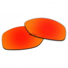 Polarized Lenses for Oakley Cohort OO9301 (Fire Red Mirror)