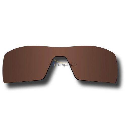 Replacement Polarized Lenses for Oakley Oil Rig (Brown Bronze)