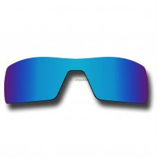 Replacement Polarized Lenses for Oakley Oil Rig (Ice Blue Mirror)