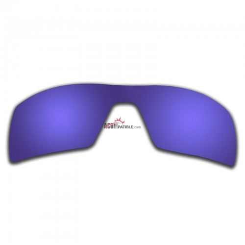Replacement Polarized Lenses for Oakley Oil Rig (Purple Coating)