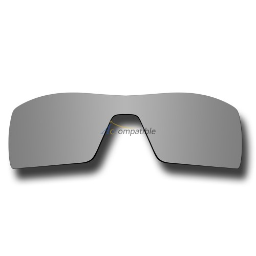 Replacement Polarized Lenses for Oakley Oil Rig (Silver Coating Mirror)
