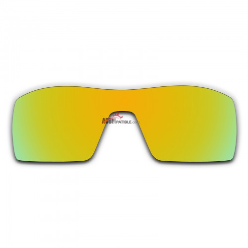 Replacement Polarized Lenses for Oakley Oil Rig (Golden Coating Mirror)