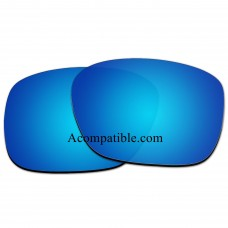 Replacement Polarized Lenses for Oakley LBD OO9193 53-17-135 (Not Overtime OO9167)  (Ice Blue Color)