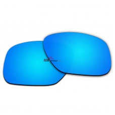 Replacement Polarized Lenses for Oakley Sliver XL OO9341  (Ice Blue Coating)