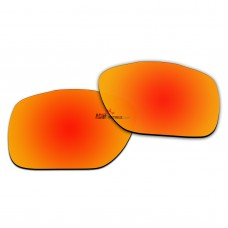 Replacement Polarized Lenses for Oakley TwoFace XL OO9350 (Fire Red Coating)