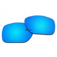 Replacement Polarized Lenses for Oakley TwoFace XL OO9350 (Blue Coating)
