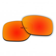 Polarized Lenses for Oakley Latch Square (Latch Sq) OO9353 (Fire Red Coating)