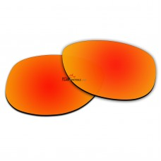 Polarized Lenses for Oakley Sliver Round OO9342 (Fire Red Coating)