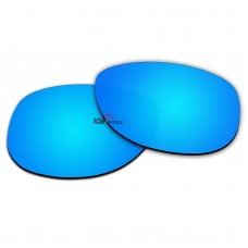 Polarized Lenses for Oakley Sliver Round OO9342 (Ice Blue Coating)