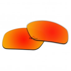 Replacement Polarized Lenses for Oakley Straightlink OO9331 (Fire Red Coating)