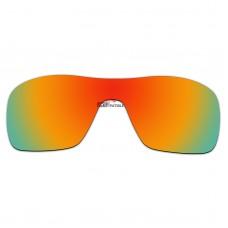 Replacement Polarized Lenses for Oakley Turbine Rotor OO9307 (Fire Red Coating)