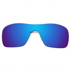 Replacement Polarized Lenses for Oakley Turbine Rotor OO9307 (Blue Coating)