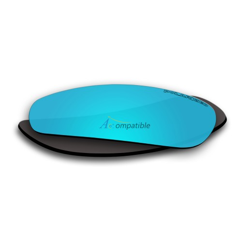 Replacement Polarized Lenses for Oakley Crosshair 2.0 (Ice Blue Mirror)