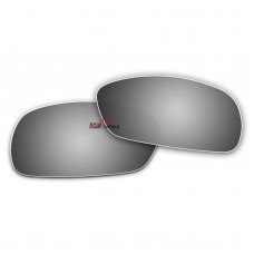 Replacement Polarized Lenses for Oakley Crosshair 2.0 OO4044 (Silver Mirror)