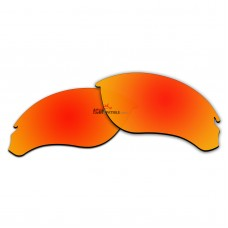 Replacement Polarized Lenses for Oakley Speed Jacket OO9228 (Fire Red Coating)