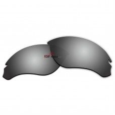 Replacement Polarized Lenses for Oakley Speed Jacket OO9228 (Silver Coating)