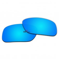 Replacement Polarized Lenses for Oakley SI Ballistic Det Cord & Det Cord Industrial OO9253 (Blue Coating)