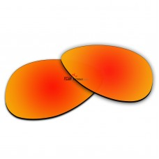 Replacement Polarized Lenses for Oakley Elmont M (Medium 58mm) OO4119 (Fire Red Coating)