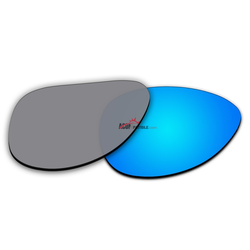 4d9f5d588d ... Replacement Polarized Lenses for Oakley Elmont M (Medium 58mm) OO4119 (Blue  Coating)