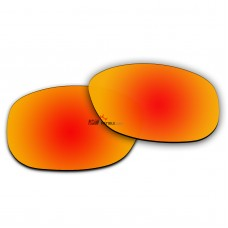 Replacement Polarized Lenses for Oakley Drop In OO9232 (Fire Red Coating)