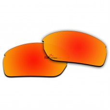 Replacement Polarized Lenses for Oakley RPM Squared OO9205 (Fire Red Coating)
