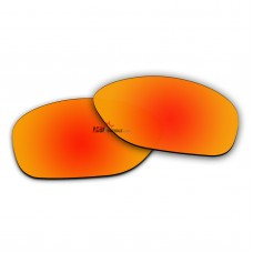 Replacement Polarized Lenses for Oakley She's Unstoppable OO9297 (Fire Red Coating)