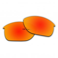 Replacement Polarized Lenses for Oakley Unstoppable OO9191 (Fire Red Coating)