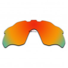 Replacement Polarized Lenses for Oakley Radar Pace OO9333 (Fire Red Coating)