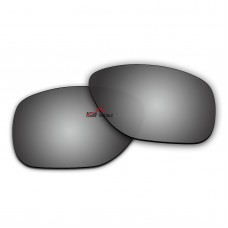 Replacement Polarized Lenses for Oakley Crossrange XL OO9360 (Silver Coating)