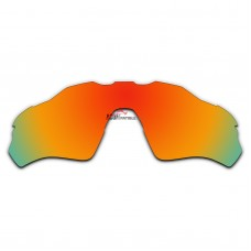 Replacement Polarized Lenses for Oakley Radar EV XS Path (Youth Fit) OJ9001 (Fire Red Coating)